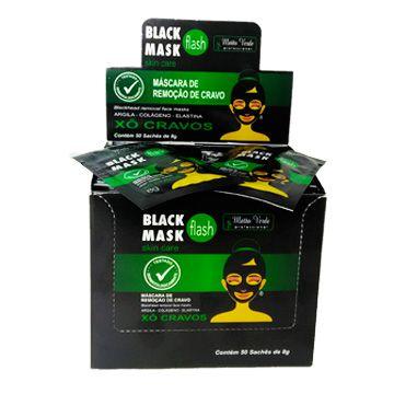 Máscara Black Mask Matto Verde - Box c/ 50 unid