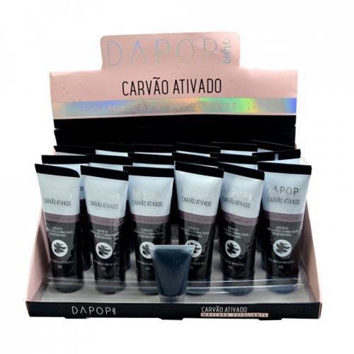 Máscara Esfoliante Carvão Ativado Dapop Care DP2036 – Box c/ 18 unid