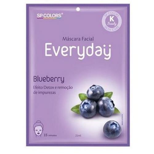 Máscara Facial Everyday Blueberry SP Colors EV005