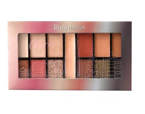 Paleta de Sombra Charm Ruby Rose HB-9985- Cor 12