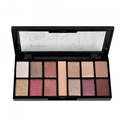 Paleta de Sombras + Primer Loving Ruby Rose HB-9985 Cor 17