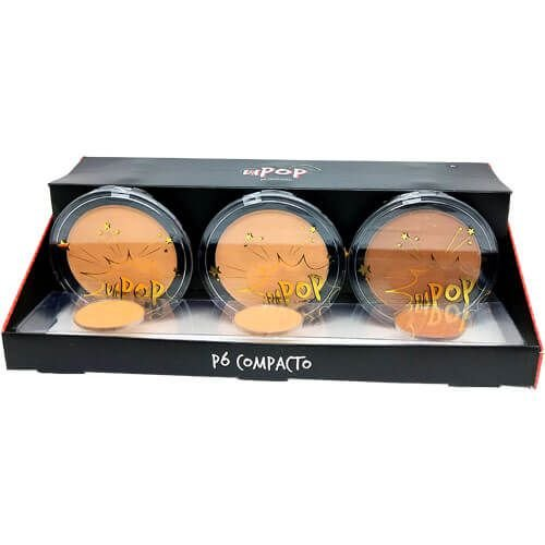 Pó Compacto Dapop HB96615 Cor B 04 ao 06 – Box c/ 12 unid