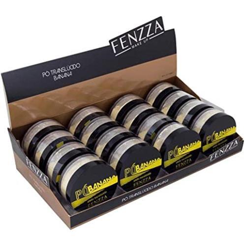 Pó de Banana Translúcido Fenzza FZ34002 – Box c/ 16 unid