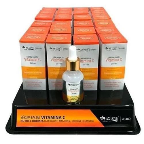 Sérum Facial Vitamina C Max Love – Box c/ 24 unid