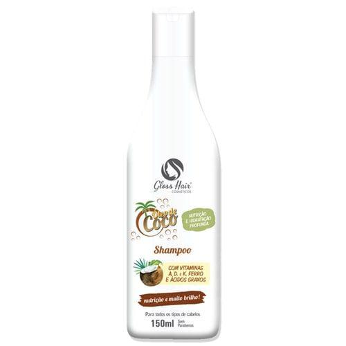 Shampoo Óleo de Coco Gloss Hair