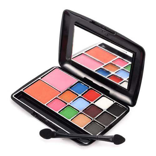 Estojo de Maquiagem 12 Sombras e 02 Blush Vivai 2013.1.1