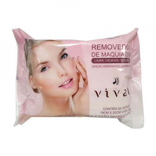 Lenço Removedor de Maquiagem Vivai 4013.1.1