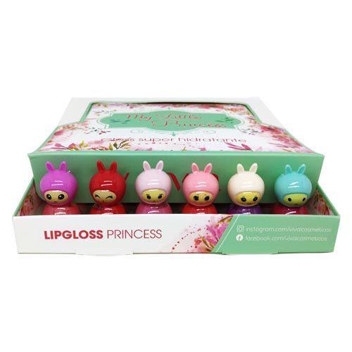 Lip Gloss My Little Princess Vivai 3012.1.1 – Box c/ 36 unid