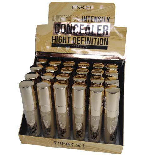 Corretivo Líquido Luminous Intensity Concealer High Definition Pink 21 Cosmetics CS2361 – Box c/ 24 unid