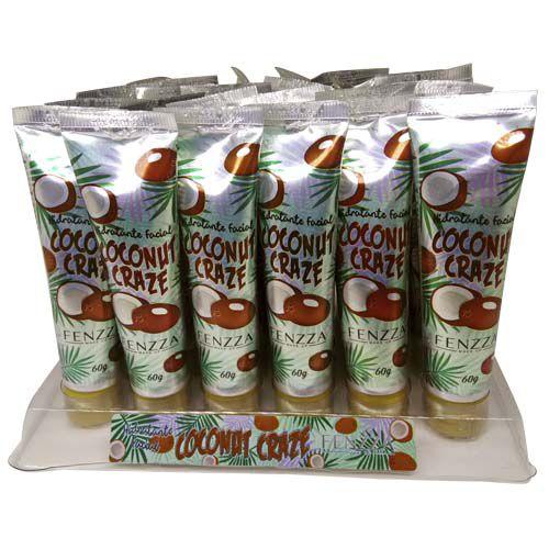 Hidratante Facial Coconut Craze Fenzza FZ37041 - Box c/ 24 unid