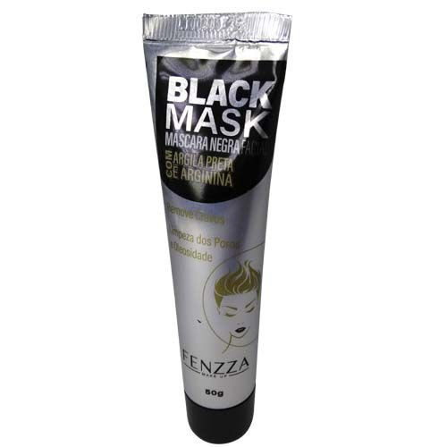 Máscara Facial Black Mask com Argila Preta e Arginina Fenzza FZ38020