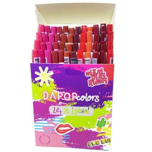 Lápis Labial Dapop Colors HB98506 – Box c/ 48 unid