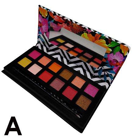 Paleta de Sombras Tropical Pink 21 Cosmetics CS2392