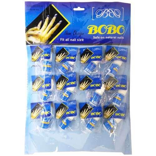 Cola para Unhas Postiças Nail Glue New Design Bobo ZW-014 – Cartela c/ 12 unid