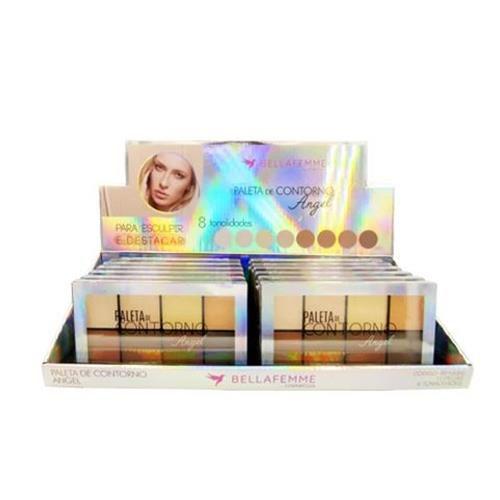 Paleta de Contorno Angel Bella Femme BF10060 – Box c/ 12 unid