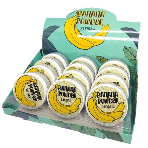 Pó de Banana Powder Safira - Box c/ 12 unid