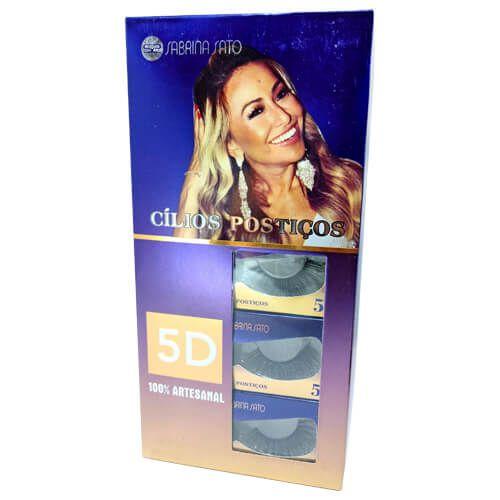 Cílios Postiços 5D-70 Sabrina Sato SS-570 – Box c/ 10 unid