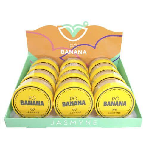 Pó de Banana Jasmyne JS01017 - Box c/ 12 unid