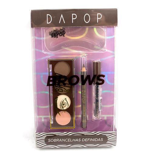 Kit para Sobrancelhas Brows Dapop HB98329