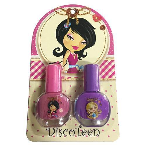 Kit com 02 Esmaltes Infantil Disco Teen HB94736