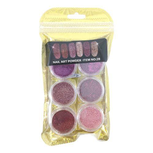 Kit de Glitter para Unhas Decoradas DF-2399