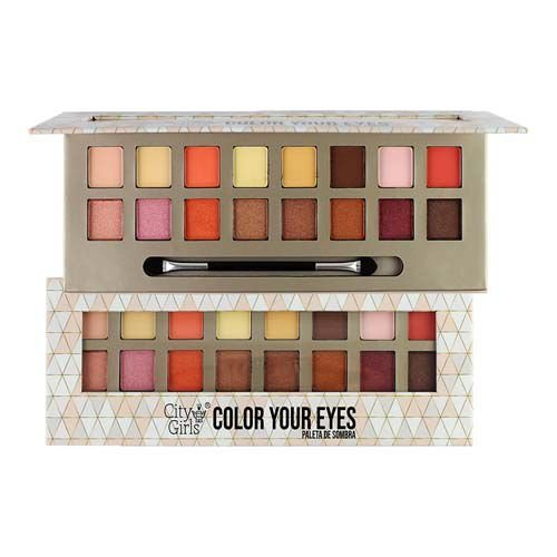 Paleta de Sombras Color Your Eyes City Girls CG127