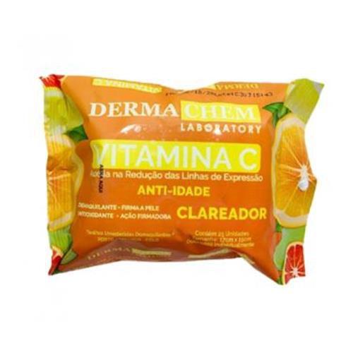 Lenço Demaquilante Vitamina C Dermachem – Kit c/ 06 unid