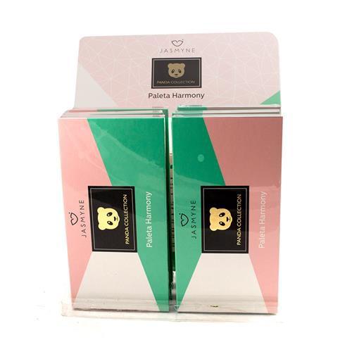 Paleta de Sombras Harmony Panda Collection Jasmyne JS0108 - Box c/ 06 unid