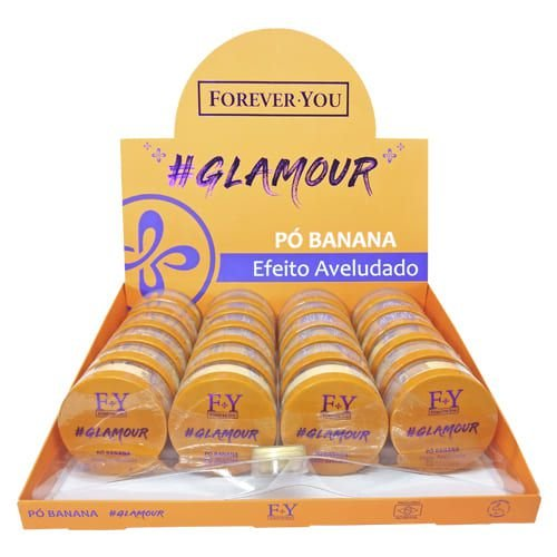 Pó Banana Glamour Forever You FY016 – Box c/ 24 unid