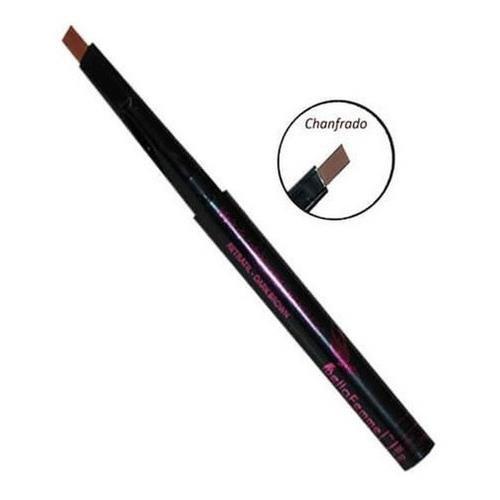 Lápis Retrátil Universal para Sobrancelha Chanfrado Bella Femme BF10035