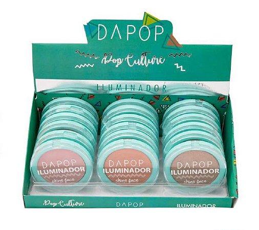 Iluminador Shine Face Dapop DP2128 – Box c/ 18 unid
