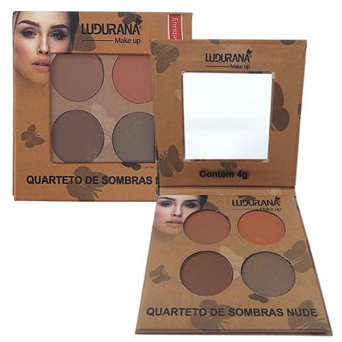 Quarteto de Sombras Nude Ludurana B00040