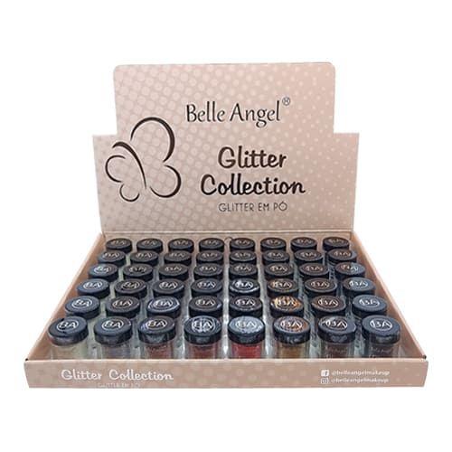 Glitter em Pó Collection Belle Angel T054 – Box c/ 48 unid