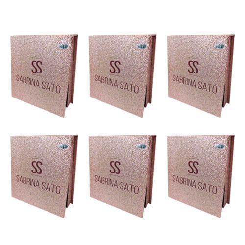 Kit de Cílios Postiços 5D-F023 Sabrina Sato SS-1296 – Kit c/ 06 unid