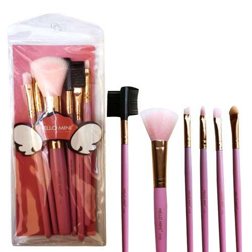 Kit de Pincéis para Maquiagem Hello Mini KT82