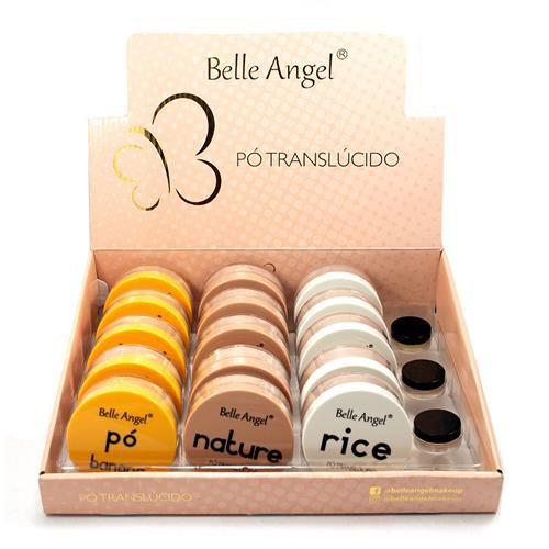 Pó Translúcido Belle Angel B103 – Box c/ 15 unid