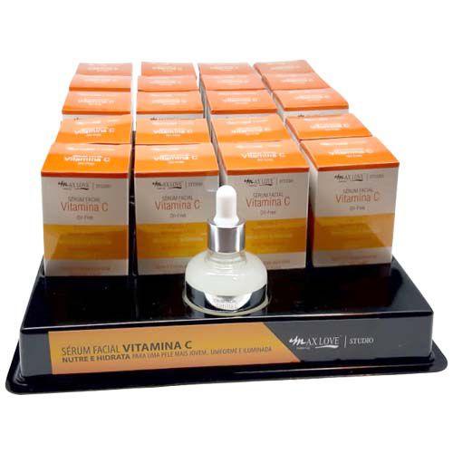 Sérum Facial Vitamina C Max Love – Box c/ 20 unid