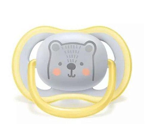 Chupeta Philips Avent Ultra Air Urso 6-18 Meses