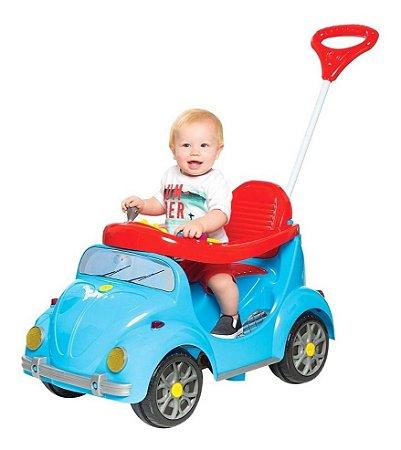 Carrinho De Passeio Infantil A Pedal 1300 Fouks - Azul