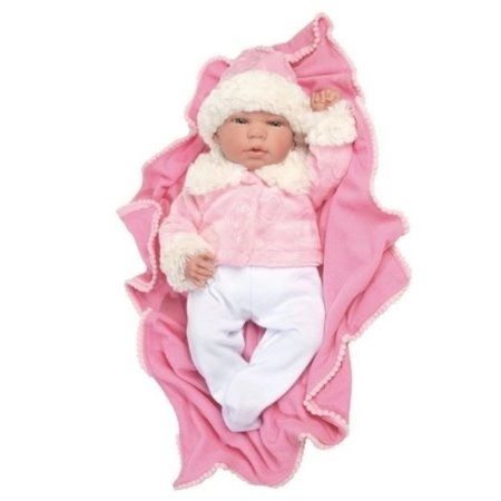 Bebê Mini Reborn Menina 39cm Babybrink