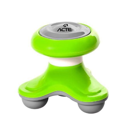 Mini Massageador Corporal Acte T150 3 Pontos Contato Verde