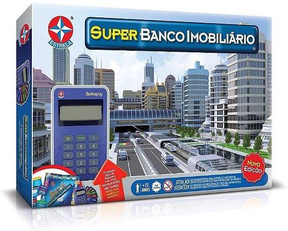 Super Banco Imobiliário Maquininha Cartão Estrela