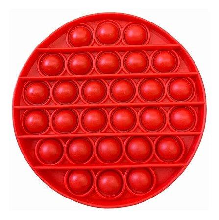 Fura Bolha Aperta Pop Clássico Vermelho Antistress Toyng