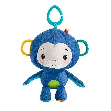 Macaquinho de Atividades Divertidas Fisher Prince Grr32 Azul