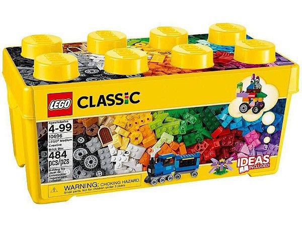 Lego Classic Caixa Media De Peças Criativas 484 Peças