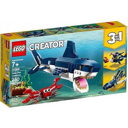 Lego Creator Criaturas do Fundo do Mar 230 Peças 31088