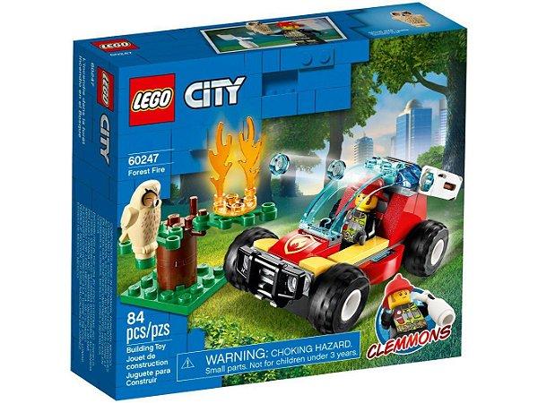Lego City Cidade em Chamas 84 Peças 60247