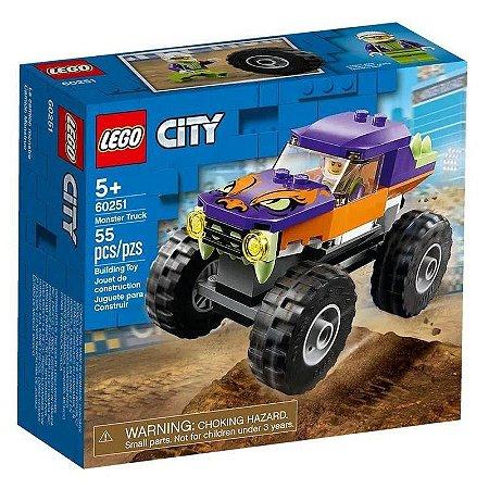 Lego City Caminhão Gigante 55 Peças 60251