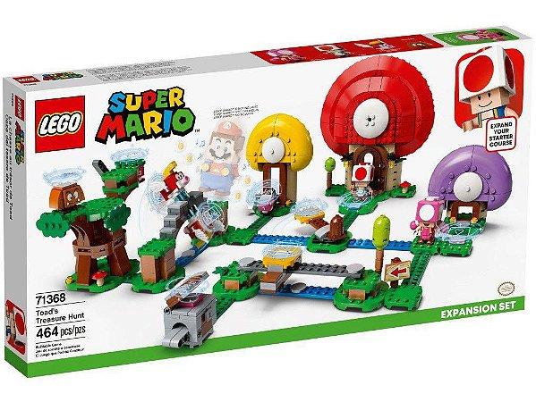 Lego Expansão Super Mario Caça ao Tesouro de Toad 464 Peças
