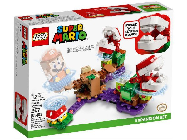 Lego Super Mario O Desafio das Plantas Piranhas 267 Peças